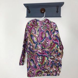 Children's Place girls butterfly raincoat S 5/6